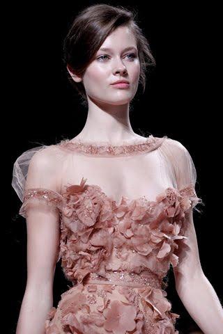 Puffy Sleeve Dress Elie Saab