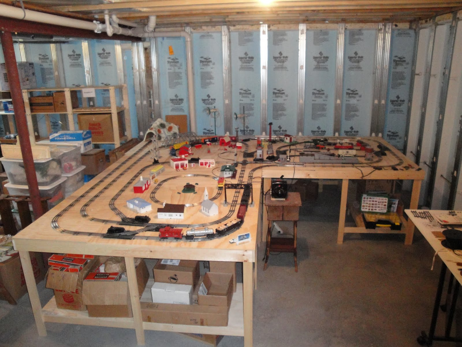 the lunger s are building a new house  lunger valley wiring model railroad switches wiring model railroad layouts