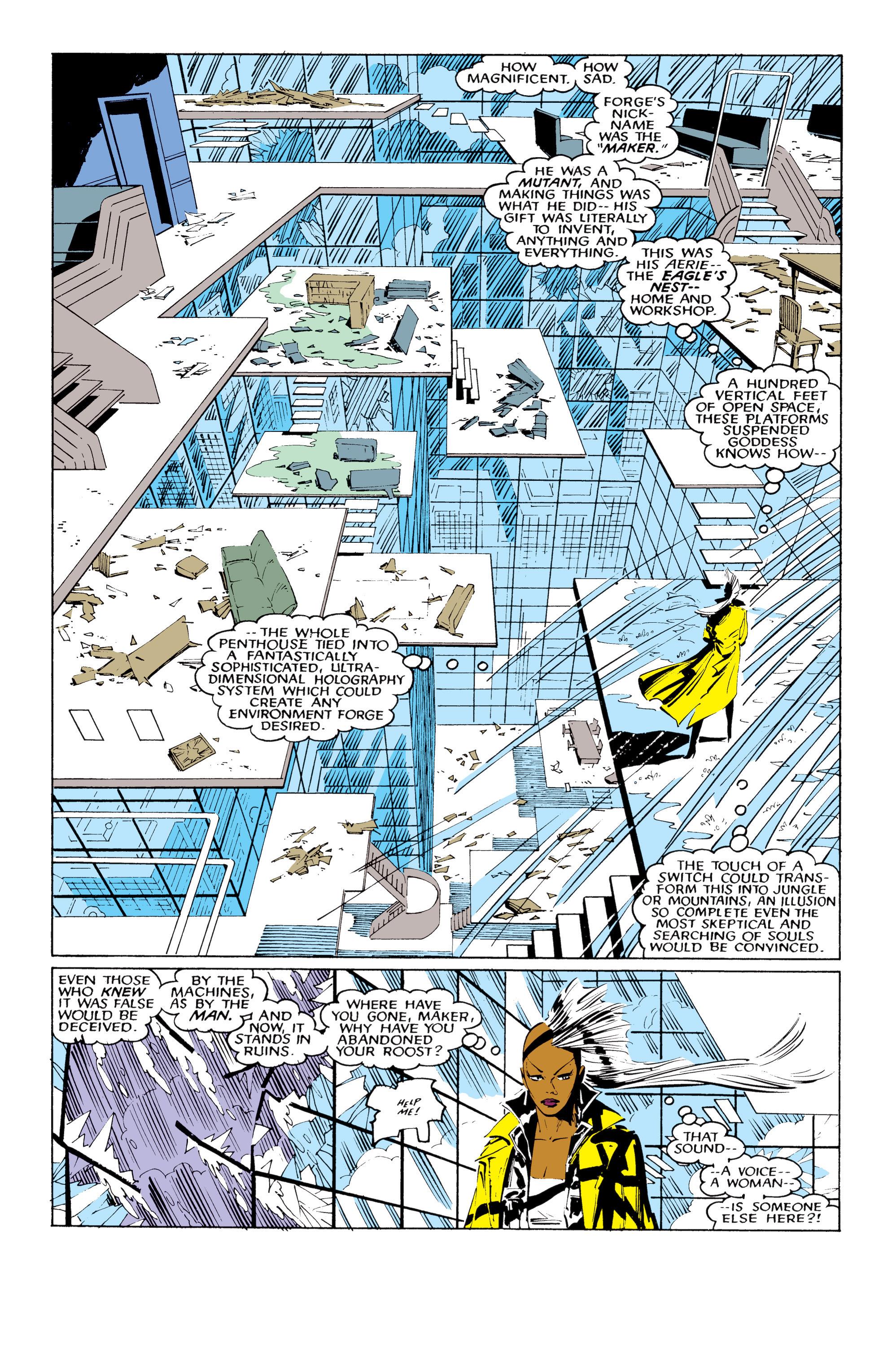 Read online Uncanny X-Men (1963) comic -  Issue #220 - 11