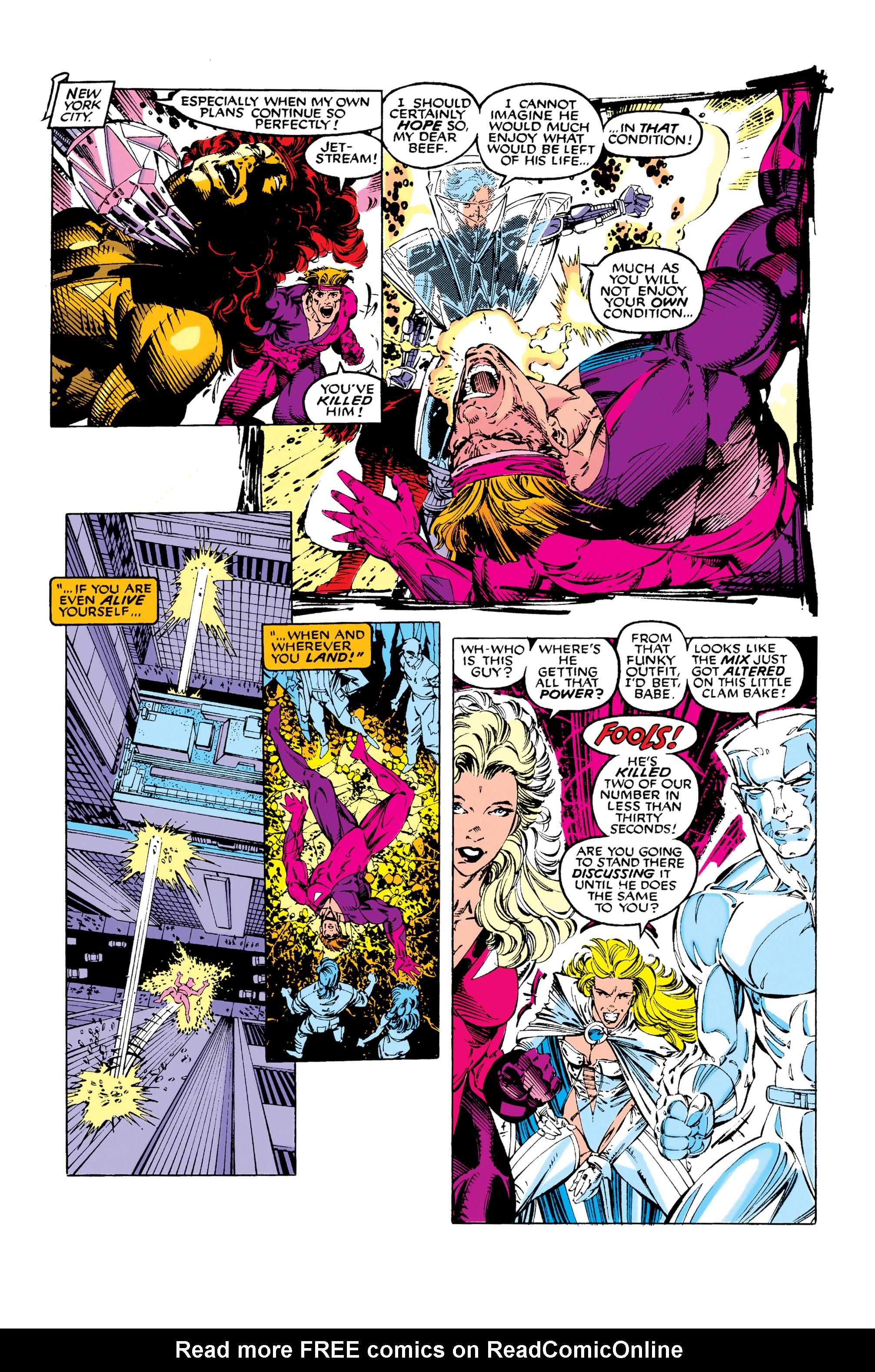 Read online Uncanny X-Men (1963) comic -  Issue #281 - 16