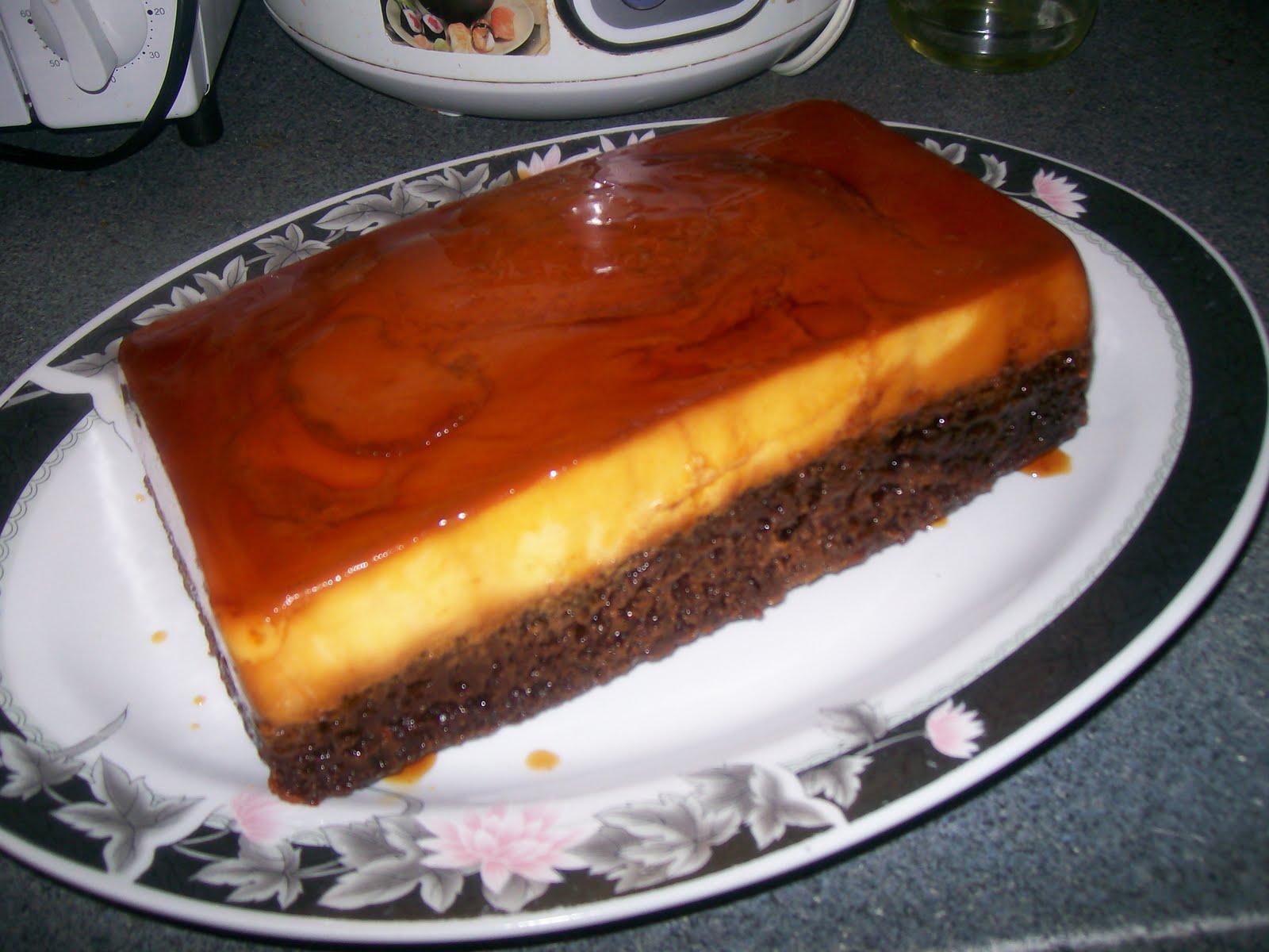 Mexican Cake Flan Chocolate