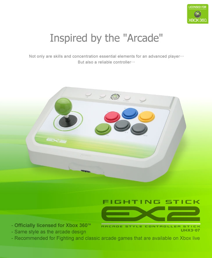 World Of My Own Design: Xbox 360 Arcade Sticks