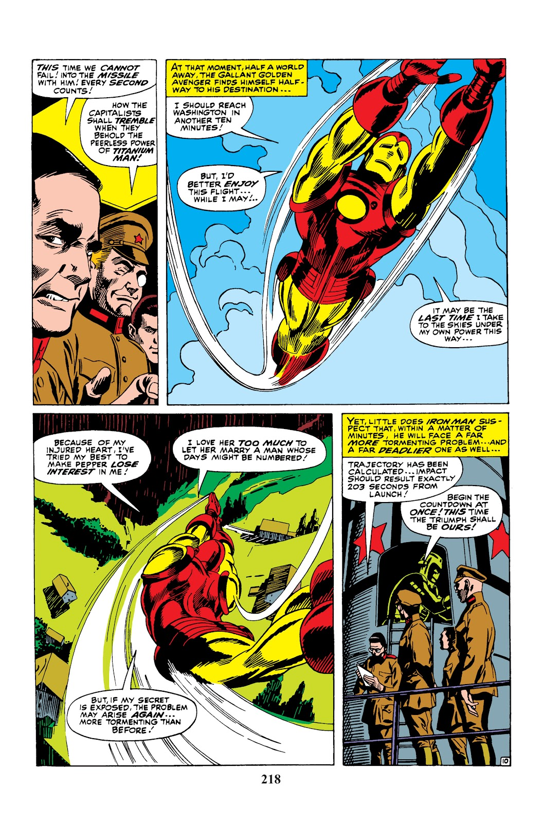 Read online Marvel Masterworks: The Invincible Iron Man comic -  Issue # TPB 3 (Part 4) - 58