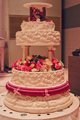 indian wedding cake picture