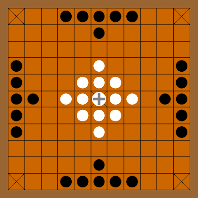Boylston Chess Club Weblog: Hnefatafl, an ancient Viking