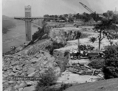 Proses Terjadinya Pembuatan Air Terjun Niagara