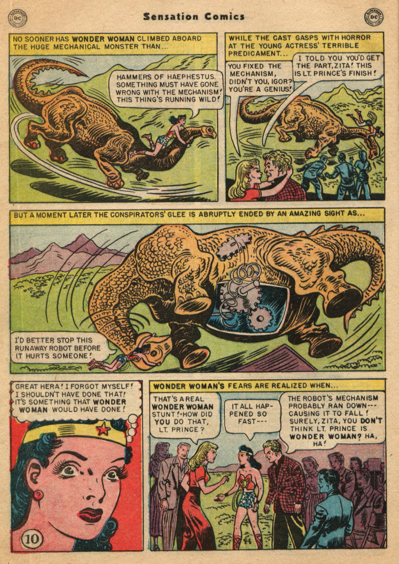 Read online Sensation (Mystery) Comics comic -  Issue #100 - 12