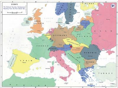 Post Ww2 Map Of Europe.Werkaiconta Post World War Ii Map