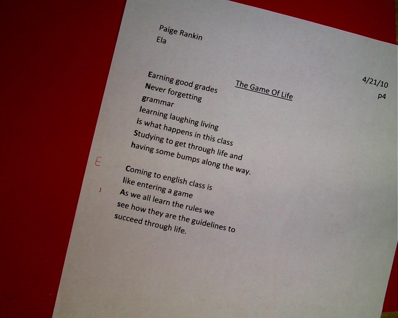 Poetry Essays