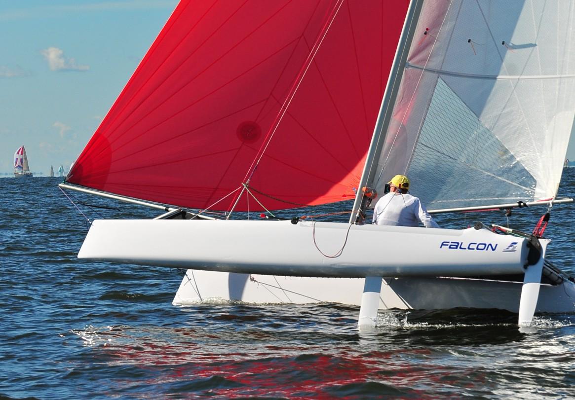 The Falcon F16 by Matt McDonald | Catamaran Racing, News ...