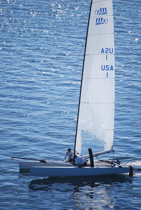 Marstrom 20: Curved Upgrade for usa1 - Catamaran Racing , News ...