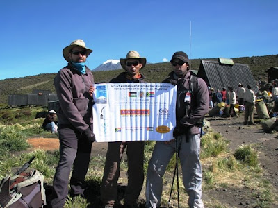 Climbing Kilimanjaro for Gaza's children