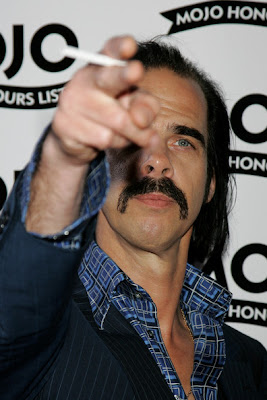 Nick Cave and Cigarette 2007 Mojo Awards