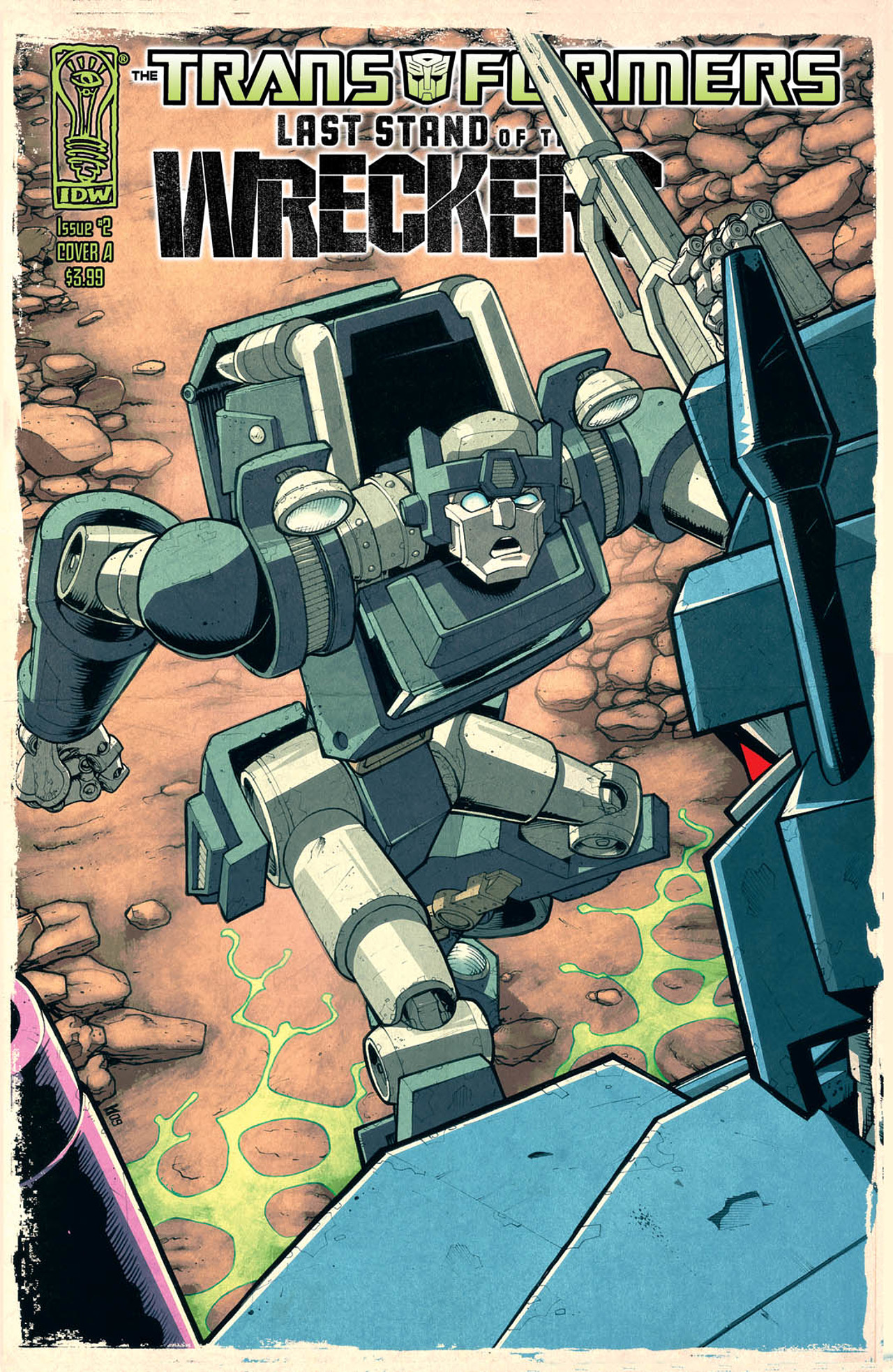 Read online Transformers: Last Stand of The Wreckers comic -  Issue #2 - 1