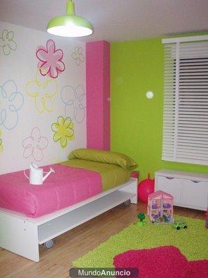 Creando historias decoracion habitaciones infantiles for Como decorar el cuarto de mi hija