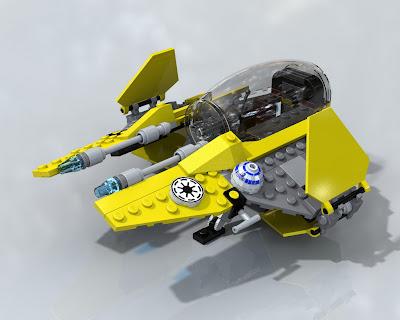 REPUBbLICk: set database: 7256 jedi starfighter and ...