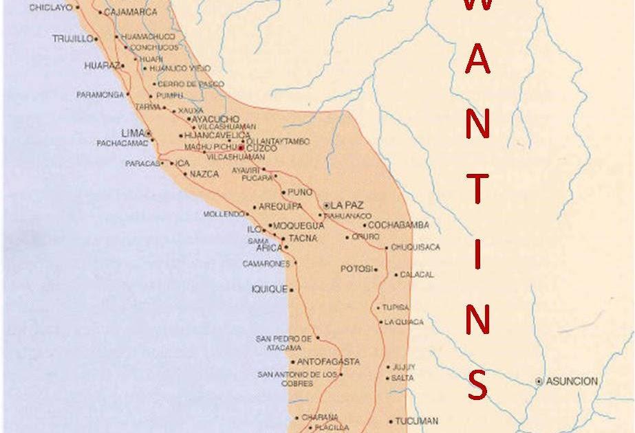 TAWANTINSUYO LIMITES DEL TAWANTINSUYO