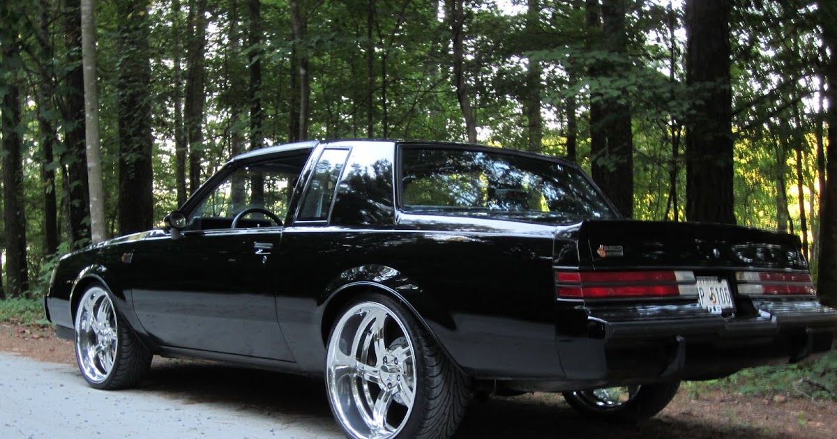 "2016 Buick Grand National >> bonspeed Feature Cars: Buick Grand National 22"" Sweep ..."