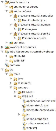 krams::: Spring MVC 3, Hibernate Annotations, MySQL