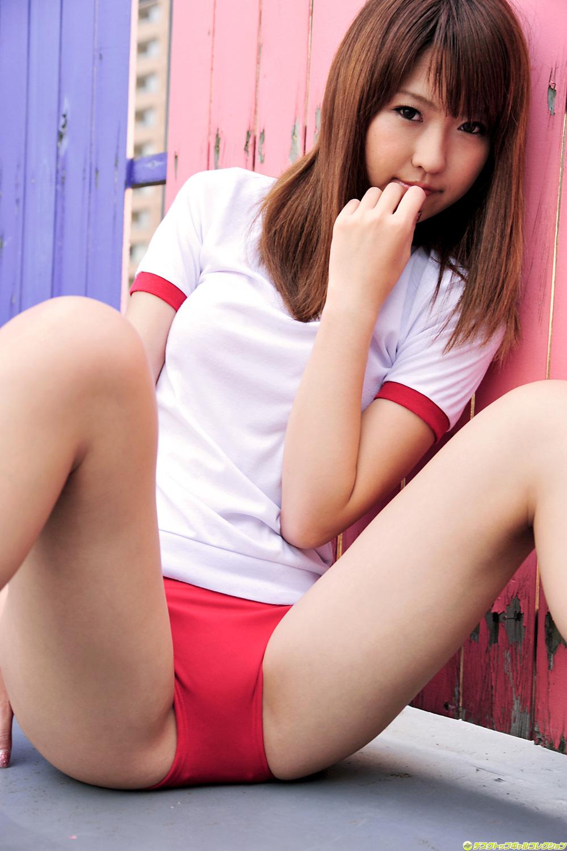 Miyu Harusaki In Gym School Uniform  Japanese Girls 2011-8089