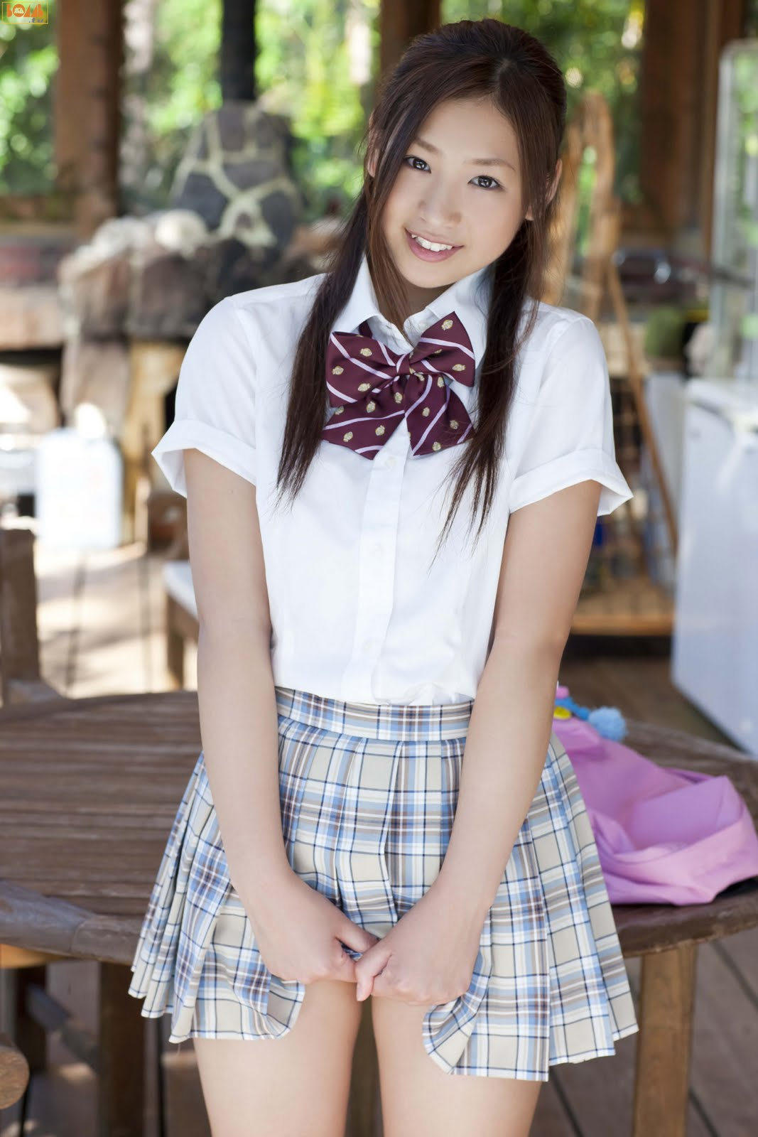 Girlz Pic Ayaka Sayama In School Uniform-1029