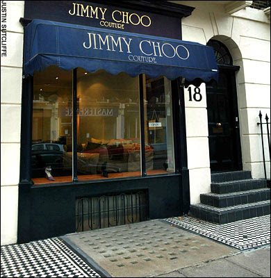 459d591bbc9c FASH was invited to bring a few friends for a Private Sample Sale at Jimmy  Choo Couture in Connaught Street