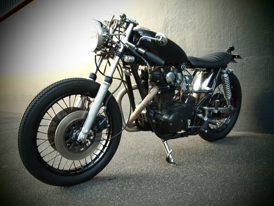 modern motorcycle company bike mean motorcycles cafe