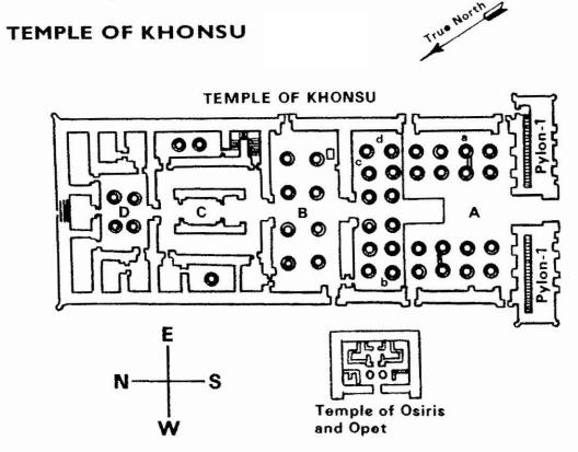 tempel ägypten text
