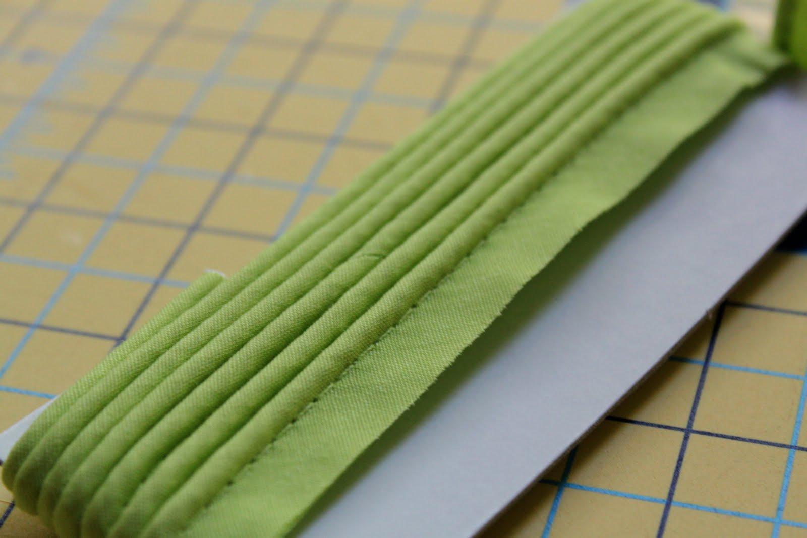 Narrow Orange Piping Sewing Trim