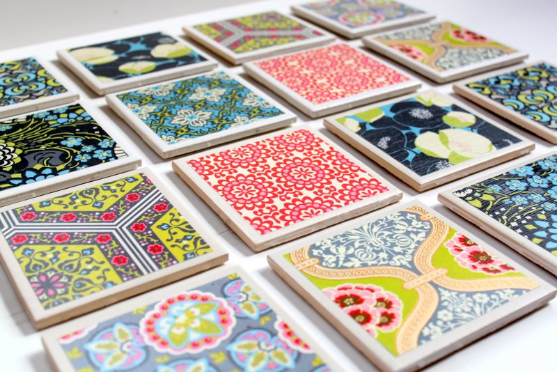 Tile Coaster Tutorial - The Cottage Mama
