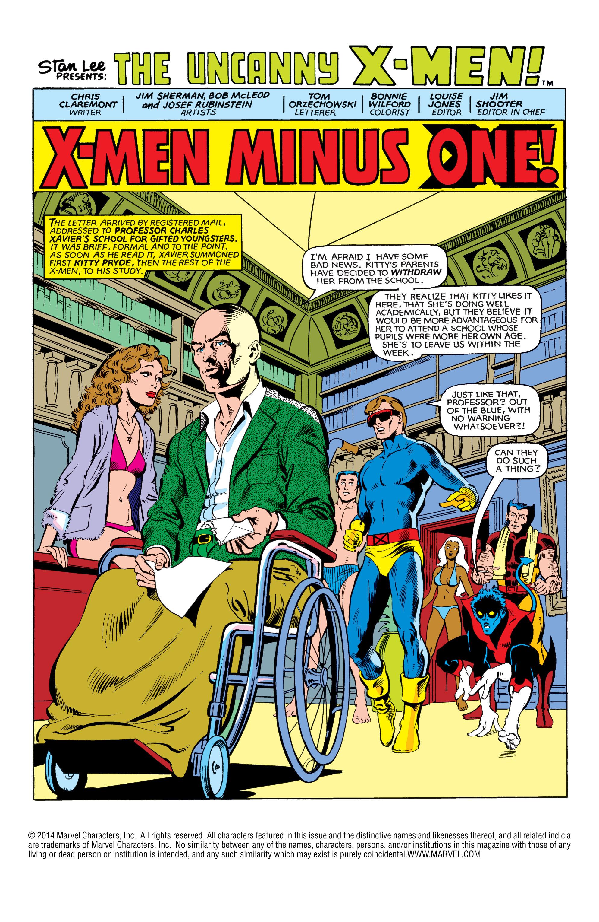 Read online Uncanny X-Men (1963) comic -  Issue #151 - 2