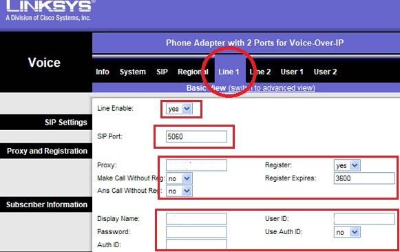 How to Configure Linksys PAP2 ATA With google Voice and Gizmo5 |Wiki