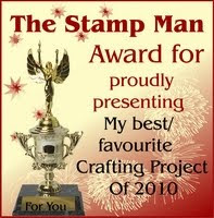 stamp man award