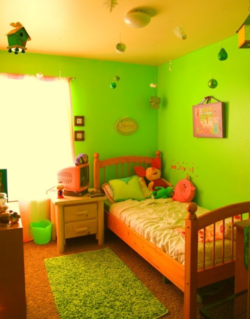 cookies and cupcakes decorating: Bedroom Decor: Kids Green ...