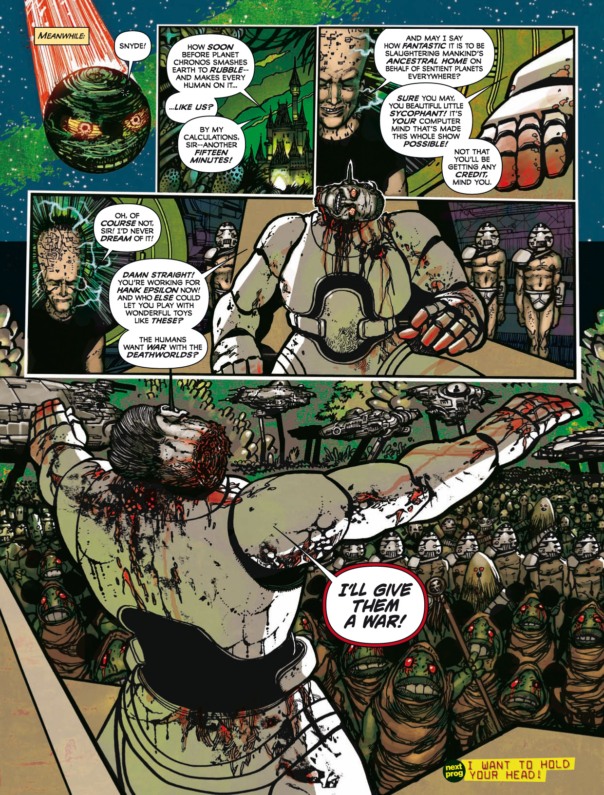 Read online 2000 AD comic -  Issue #1746 - 160