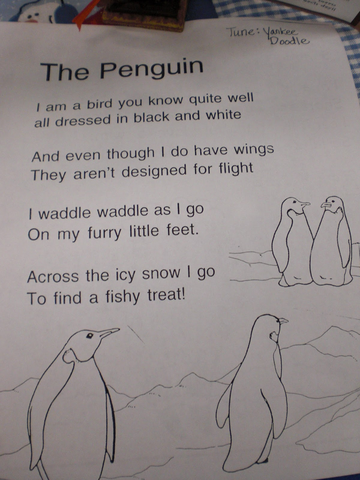 Patties Classroom Penguins On Parade