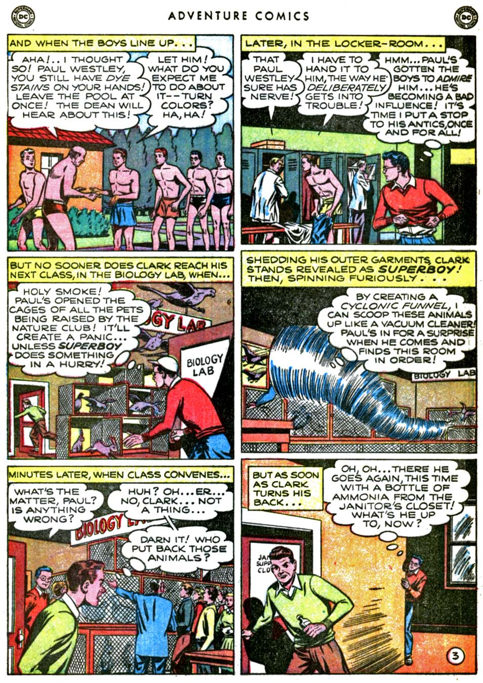 Read online Adventure Comics (1938) comic -  Issue #157 - 5