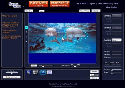 Smash Mash TV, Online Animation Tool