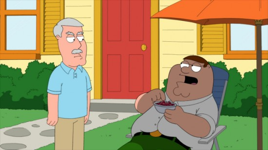 Family Guy Cartoonvalley Piter And Cleveland Brown