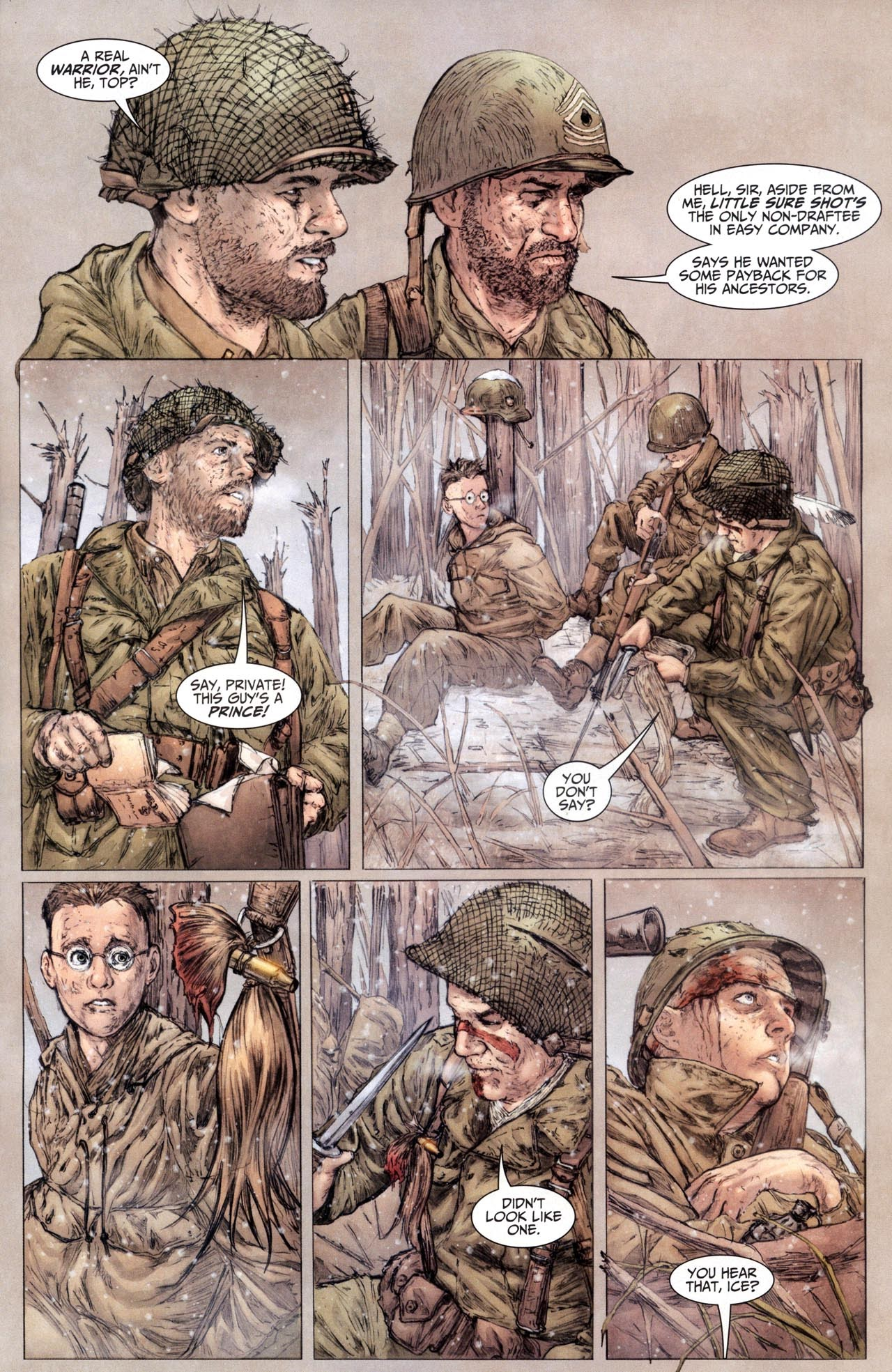 Read online Sgt. Rock: The Lost Battalion comic -  Issue #6 - 4