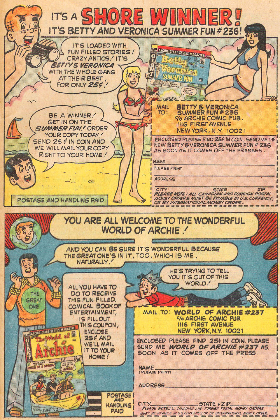 Read online Archie's Girls Betty and Veronica comic -  Issue #236 - 32