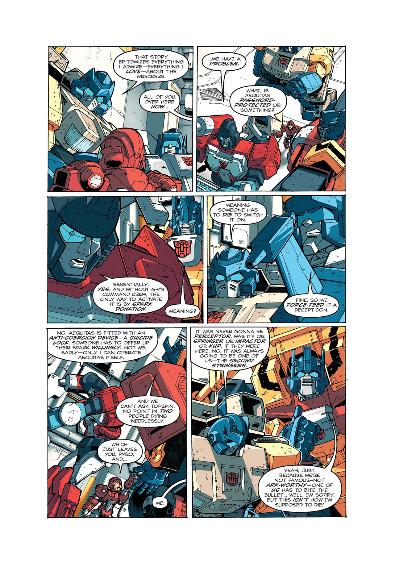 Read online Transformers: Last Stand of The Wreckers comic -  Issue #4 - 16