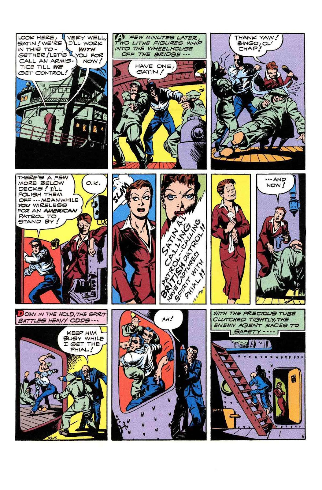 Read online Will Eisner's The Spirit Archives comic -  Issue # TPB 3 (Part 2) - 11