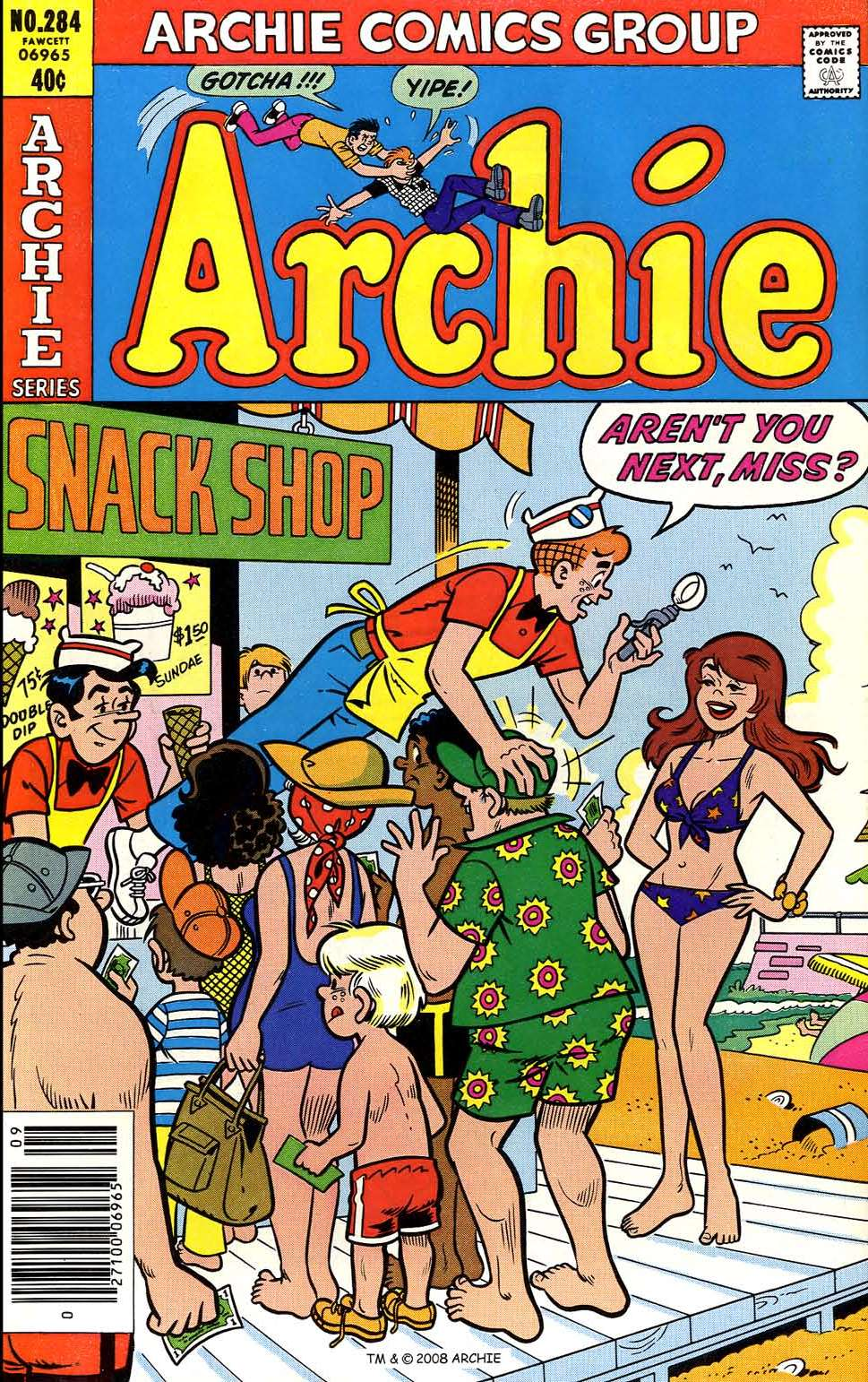 Read online Archie (1960) comic -  Issue #284 - 1