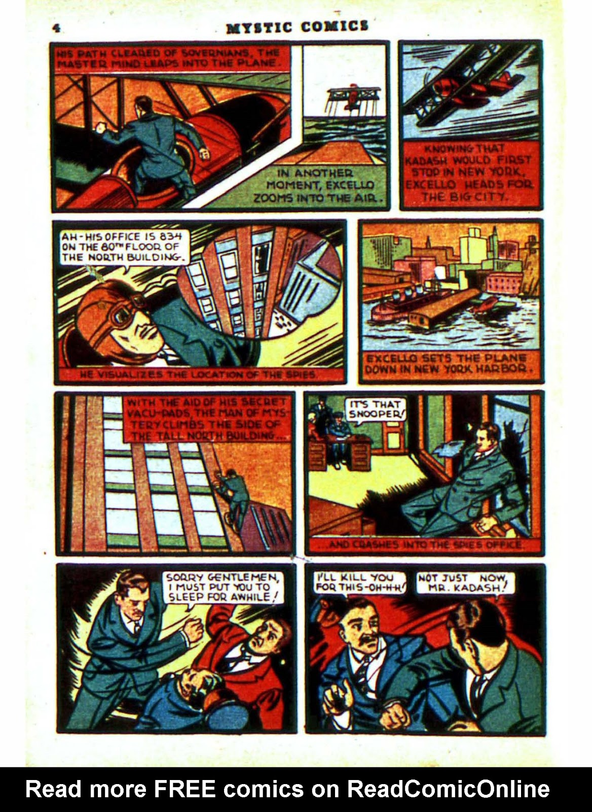 Mystic Comics (1940) issue 2 - Page 6
