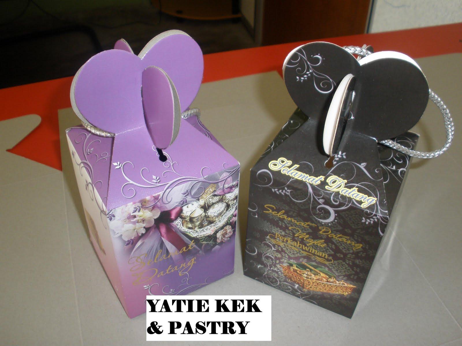 Yatie Kek Amp Pastry Contoh Tempahan Bahulu