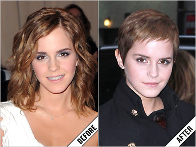 Emma Watson Before And AfterEmma Watson Before And After Haircut