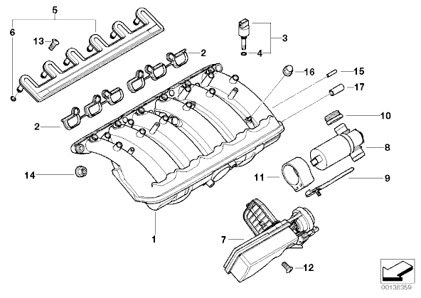 Bmw 528i Cylinder Head Diagram, Bmw, Free Engine Image For