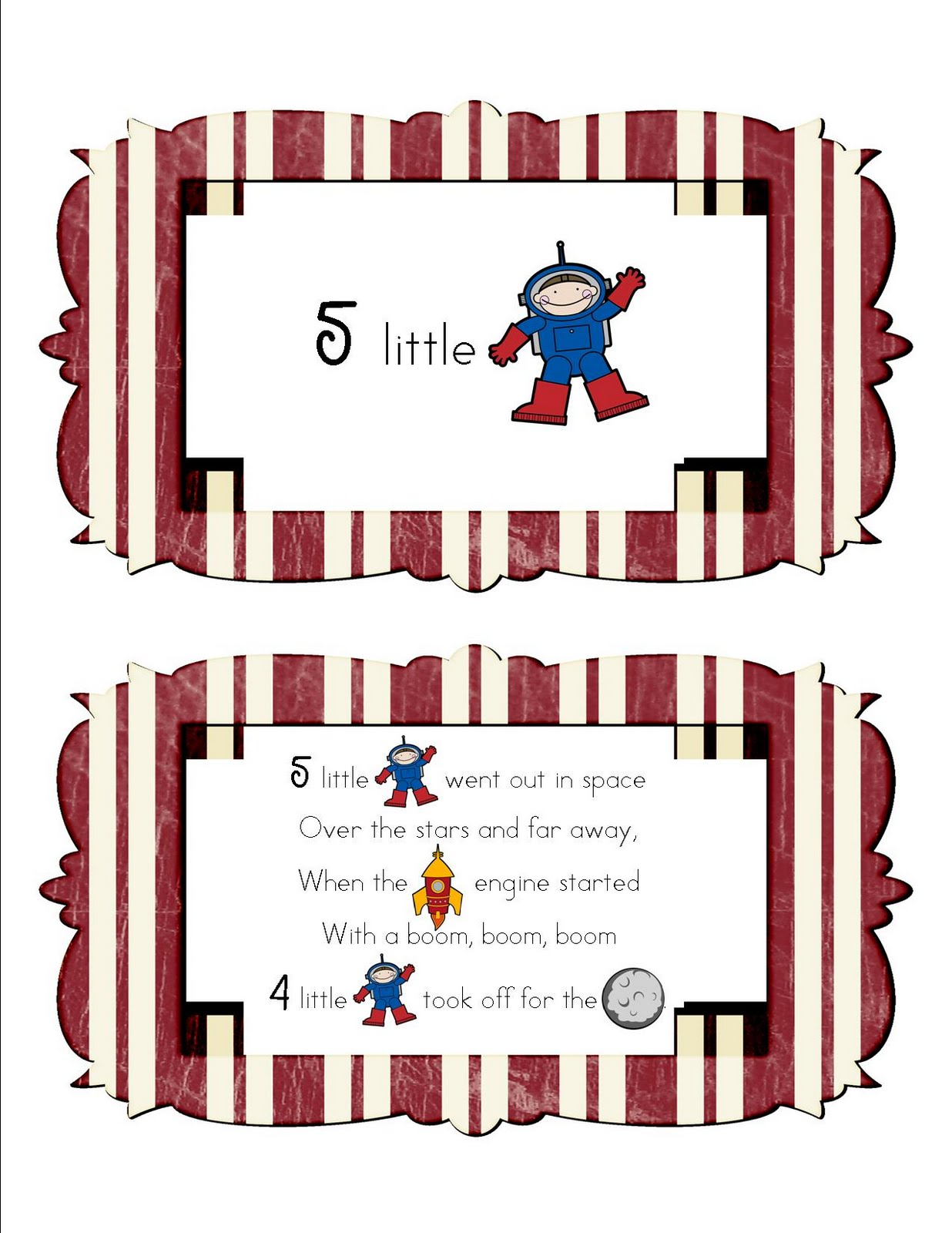 Mrs Home Ec Preschool Lesson Space