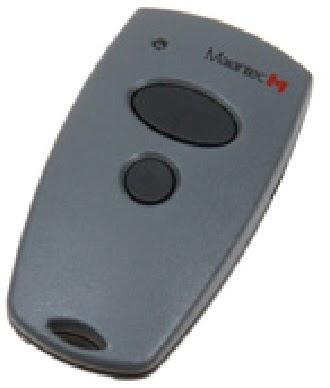 Garage door zone blog how to program marantec 315mhz remote for How to program a garage door opener